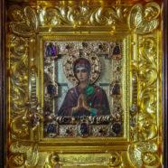 Чудотворная икона в нашем храме.